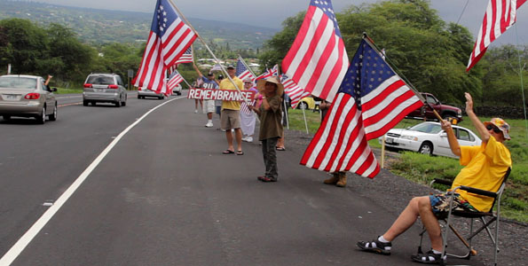 Patriot Day honors those who lost their lives in the attacks a decade ago on Sept. 11, 2001. Video from Kona today and 10 years ago.