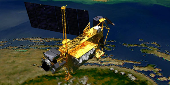 NASA's decommissioned Upper Atmosphere Research Satellite (UARS) fell back to Earth between 5:23 p.m. and 7:09 p.m. HST Friday, Sept. 23, 20 years and nine days after its launch on a 14-year mission that produced some of the first long-term records of chemicals in the atmosphere.