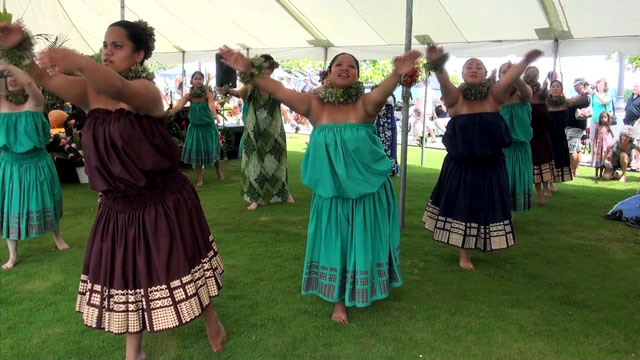 Hundreds attended the World Peace Festival held Saturday (Oct 1) at Moku Ola in Hilo. Video from the event.