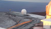 The National Weather Service in Honolulu has forecast light snow showers for the summits of Mauna Kea and Mauna Loa through Monday (Nov 21).  High clouds are also forecast to persist through the weekend.  A small craft advisory is in effect until 6 a.m. Sunday (Nov 20) for the Kaiwi Channel, Maalaea Bay, Pailolo Channgel, Alenuihaha Channel, Big Island leeward and Southeast waters.