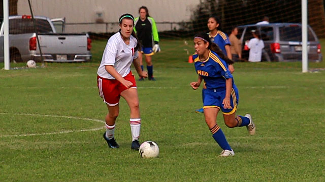 Hilo beat St. Joseph's 7-0 in BIIF girls soccer action on Thursday (Dec 1) in their opening game of the season. Video of the action.