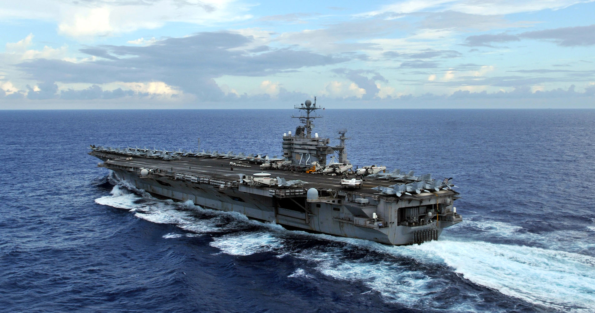 Navy aircraft from Carrier Air Wing TWO aboard USS Abraham Lincoln (CVN 72) will conduct training exercises which include dropping flares and bombs between 10-11 p.m. over the two day period.