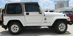 Suspects in Thursday's robbery fled in a Jeep similar to this.
