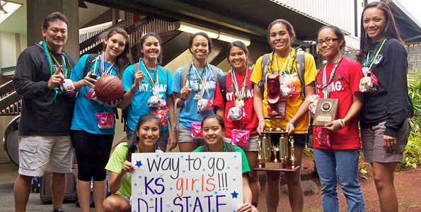 In 10 years, director builds athletic program from ground up; wins four state championships
