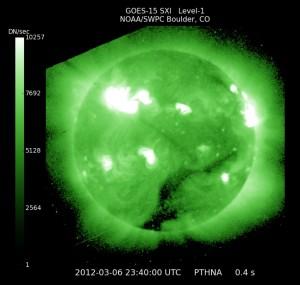 GOES Solar X-ray Image