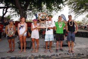 Overall winners of the 2012 Lavaman Waikoloa Triathlon. Photo by David O. Baldwin   Special to Hawaii 24/7