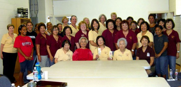 Zonta Club of Hilo members and friends learned first hand about growing homelessness and gave a hand by teaching sewing skills and crafts at HOPE Services.