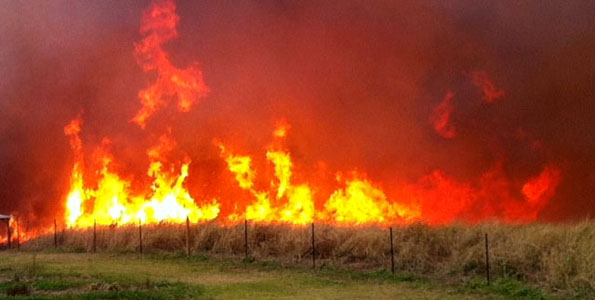 'Red flag' fire warning for all islands