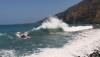 High surf Thursday at Kealakekua Bay. (Photo courtesy of Visionary Video)