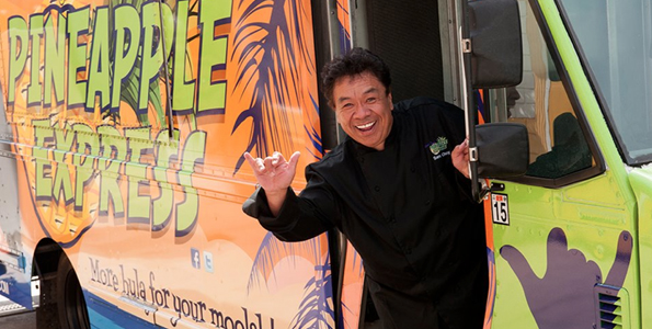 Launching Pineapple Express truck, starring on Food Network's 'Best Thing I Ever Made' and a new frozen food line