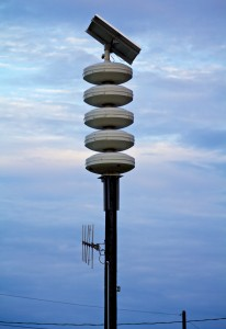Civil Defense siren in Paauilo. Hawaii 24/7 File Photo