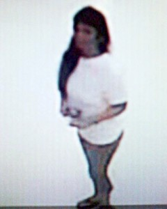 Do you recognize this woman? She is being sought for fraudulent use of a credit card.