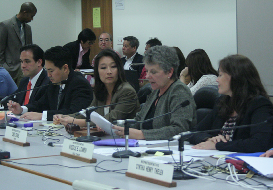 Rep. Cindy Evans leads the Water & Land Committee. (Photo courtesy of House of Representatives)