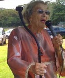 Helene Hale, 1918-2013. (Photo courtesy of Tiffany Edwards Hunt | Big Island Chronicle)