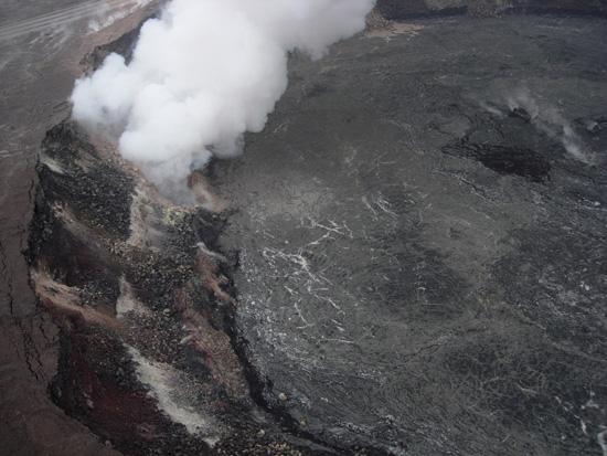 Halemaumau Crater - April 2008  (Photo courtesy of USGS)