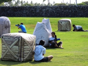 Young people enjoyed a friendly game of laser tag after the 4th Annual Lifeplan Youth Summit. (Photo courtesy of Lifeplan Hawaii Island)