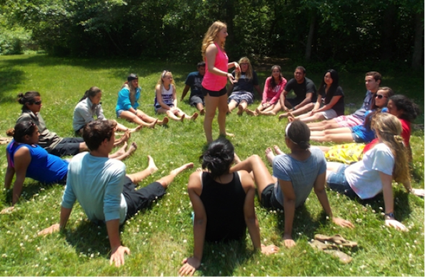 Youth Delegates connect (Photo courtesy of the Stone Soup Leadership Institute)