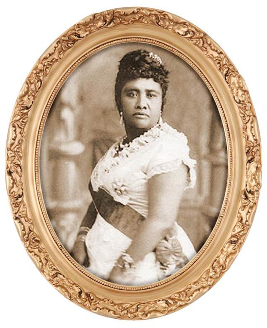 Queen Liliuokalani (Image courtesy of Buzz Belknap)