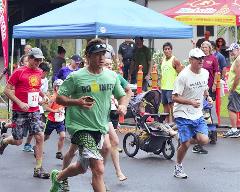 Runners start the 'Run To Honor' 5K run in honor of Police Week.