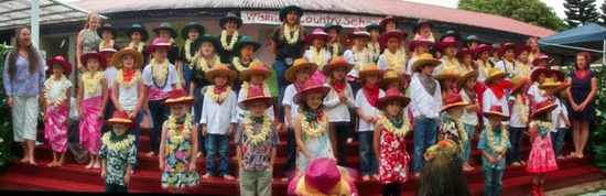 (Photo courtesy of Waimea Country School)