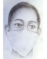 Composite drawing of Suspect No. 1