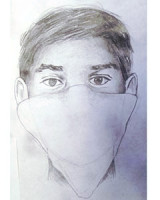 Composite drawing of Suspect No. 2