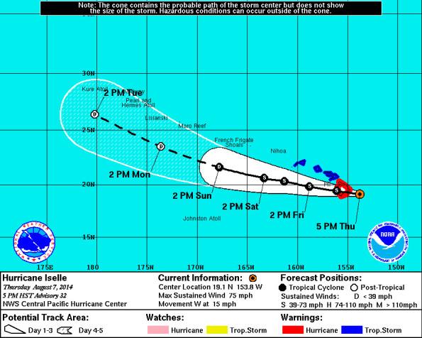 20140807-1700HST-Hurricane-Iselle-track