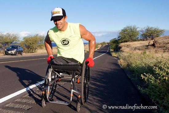 Andre Kajlich smiles during the Day 3 segment. (Hawaii 24/7 photo courtesy of Nadine Fischer | www.nadinefischer.com)