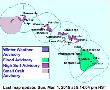 Map via National Weather Service