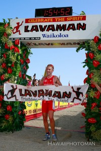 Ben Williams, the men's champion of the 2015 Lavaman Triathlon in Waikoloa. Photography by David O. Baldwin | Special to Hawaii 24/7