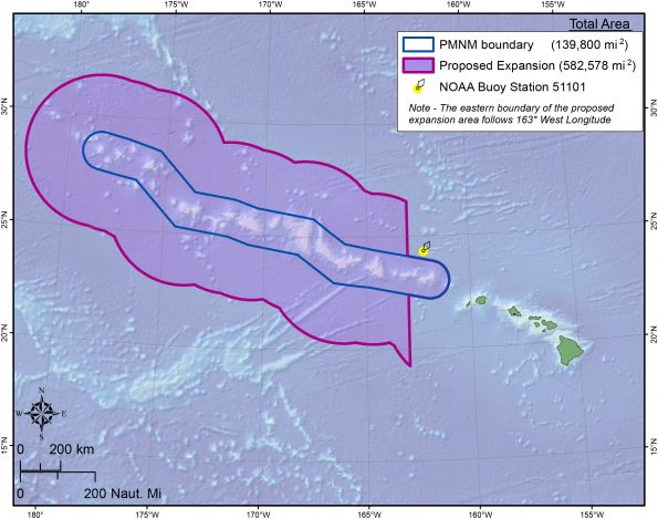 Papahanaumokuakea Marine National Monument Expansion