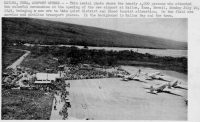 Kona Airport July 10, 1949. Archive Photo.