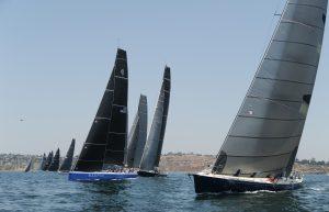 Transpac 2017 start in California. Photos courtesy of Doug Gifford/Ultimate Sailing