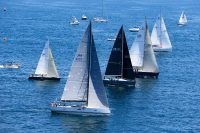 Start of the 2017 TransPac race. Photo courtesy Sharon Green / Ultimate Sailing