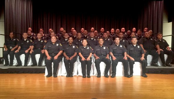 Department of Public Safety 2017 recruit class graduation in Honolulu. Photo courtesy PSD