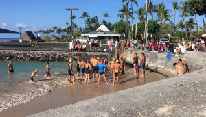 Peaman event at Kailua Pier in Kona.