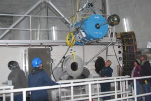 NIRES arrived at Keck Observatory from Caltech on April 17 and was installed on Keck II on September  28. This long-awaited instrument is perfectly suited for time domain astronomy follow-up observations of  targets identified by new surveys that are designed to find transients and exotic objects.