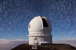 Canada-France-Hawaii Telescope. Courtesy Photo.