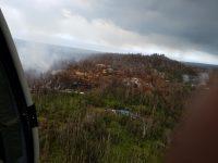 Kilauea eruption Lower East Rift Zone in Puna Saturday, May 26, 2018. Photos courtesy of Hawaii County Civil Defense.