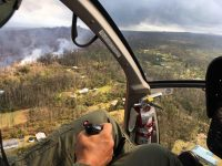 Lower East Rift Zone in Puna Saturday, May 26, 2018. Photos courtesy of Hawaii County Civil Defense.