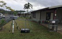 EPA air monitoring station. Photo courtesy of EPA