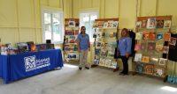 HPPA staff Aloha and Rochel with merchandise in Kahuku. NPS Photo