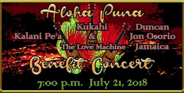 Aloha Puna Concert