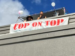 """""""Cop on Top"""" Fundraiser for Special Olympics at Walmart"""