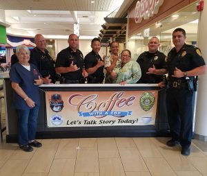 """Coffee with a Cop"" Wednesday, (Oct 3)."