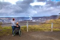 A couple at the steaming bluff Wahinekapu. Courtesy Photo