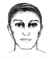 Composite drawing of how subject may have appeared in 1997
