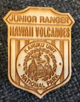Kahuku Jr. Ranger badge