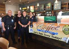 Coffee with a Cop in Waikoloa