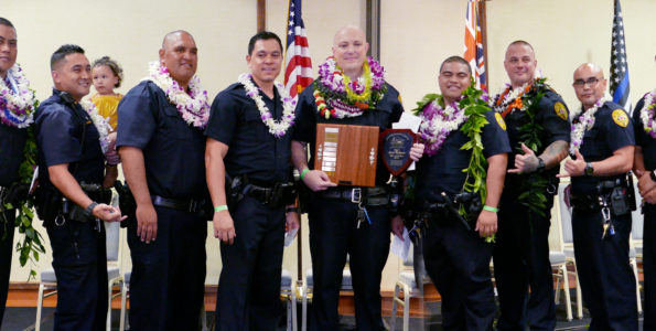 2019 Officer of the Year Candidates